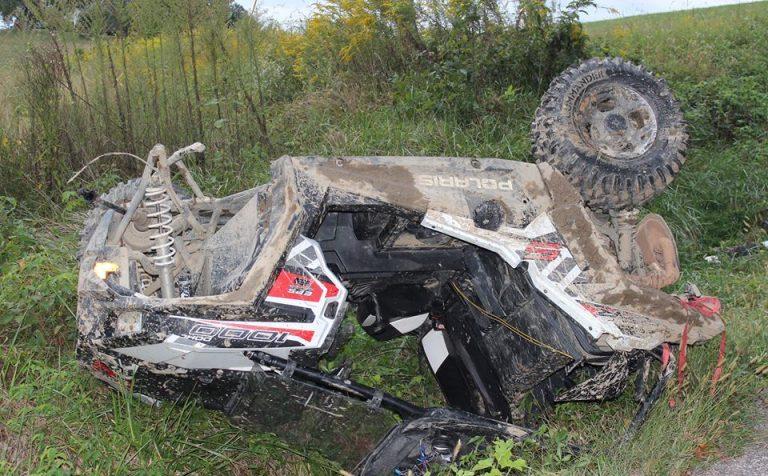Мужчина погиб при опрокидывании квадроцикла в Подмосковье