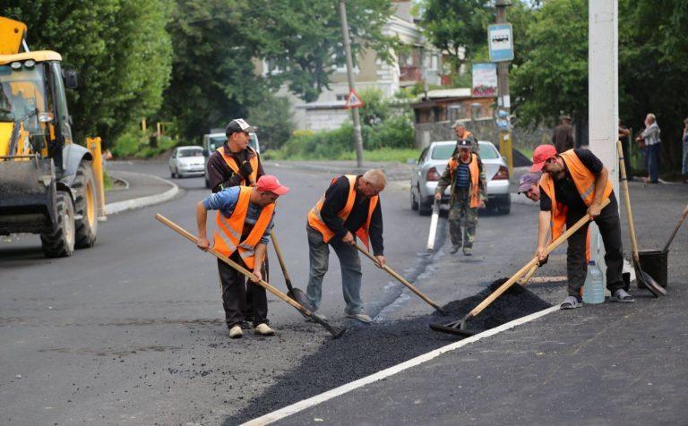 По качеству ремонта дорог Клин в «зелёной зоне»