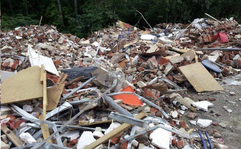 Больше всего незаконных мусорных свалок выявлено в Клину