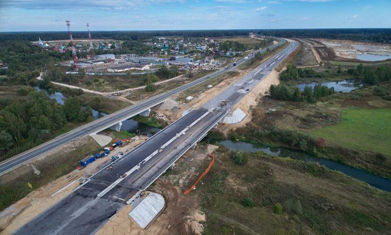 ЦКАД-3 откроется в начале ноября