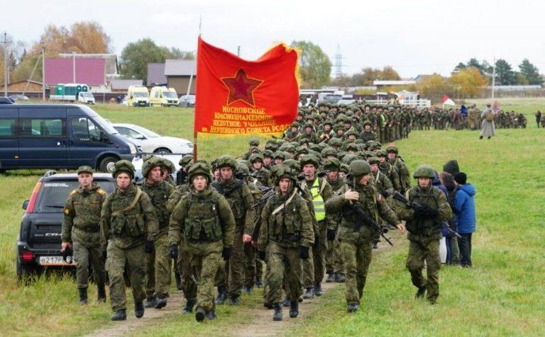 Марш памяти подвига кремлёвских курсантов стартует в г.о. Клин