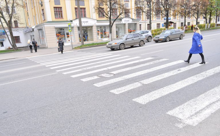 Чётко определены правила проезда пешеходного перехода