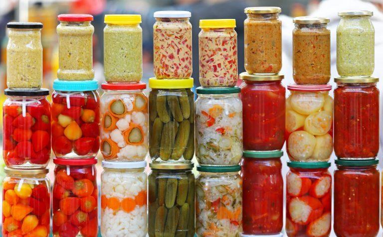 Горячая пора – заготовка овощей
