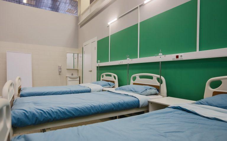 В подмосковном «Патриоте» поставили 400 коек для больных коронавирусом