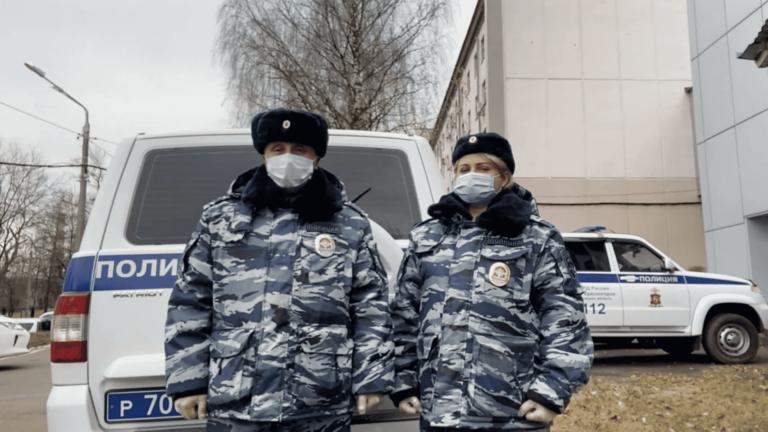 В Красногорске полицейские спасли 77-летнюю женщину из горящего дома
