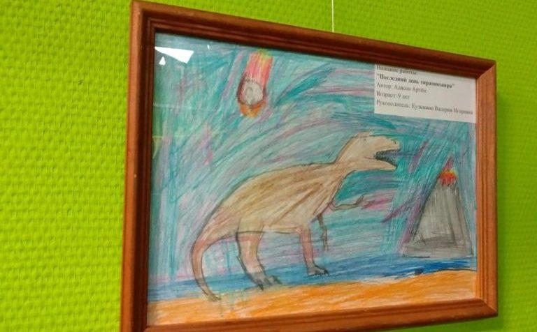 Юный художник открыл персональную выставку в Солнечногорске