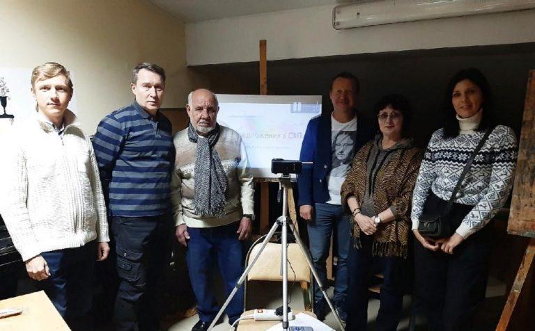 Промежуточные итоги: в Солнечногорске состоялось собрание художников