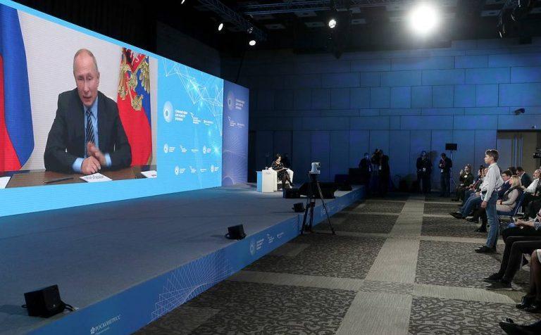 Путин пообещал поддержку проекту распознавания шрифта Брайля для слабовидящих
