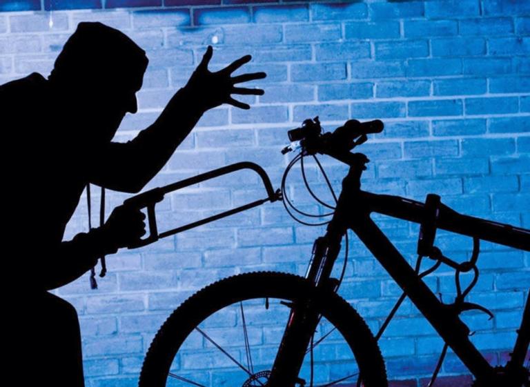 В Клину полицейские задержали подозреваемого в краже велосипеда