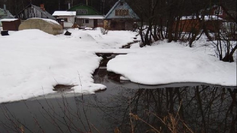Ликвидировано восемь незаконных водовыпусков в Клину