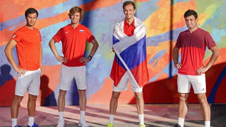 Определился соперник сборной России в полуфинале ATP Cup