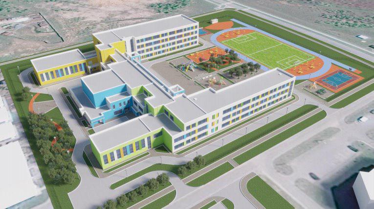 Новую клинскую школу присоединили к электросетям