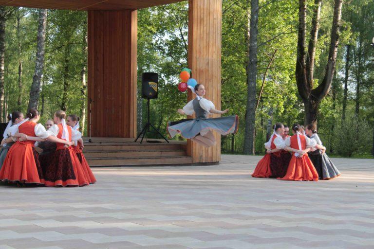 В Берёзовом парке открылась «Зелёная» сцена…