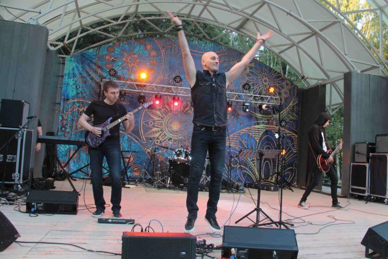 Рок-концерт в Сестрорецком парке