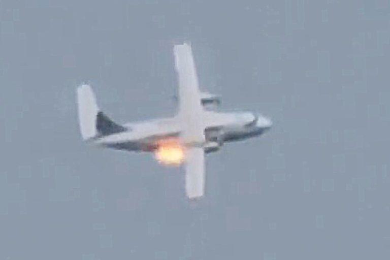 В Подмосковье разбился военно-транспортный самолет Ил-112В