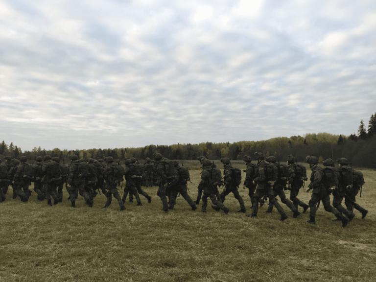 марш-2021; кремлевские курсанты