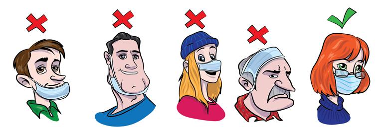 Как пользоваться маской при поездках в общественном транспорте